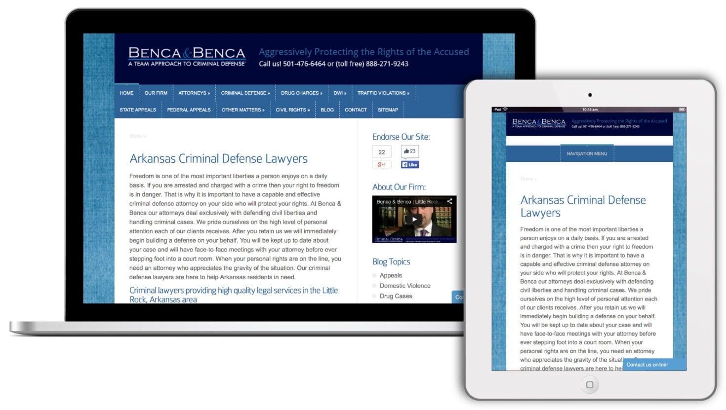 Arkansas criminal defense attorneys
