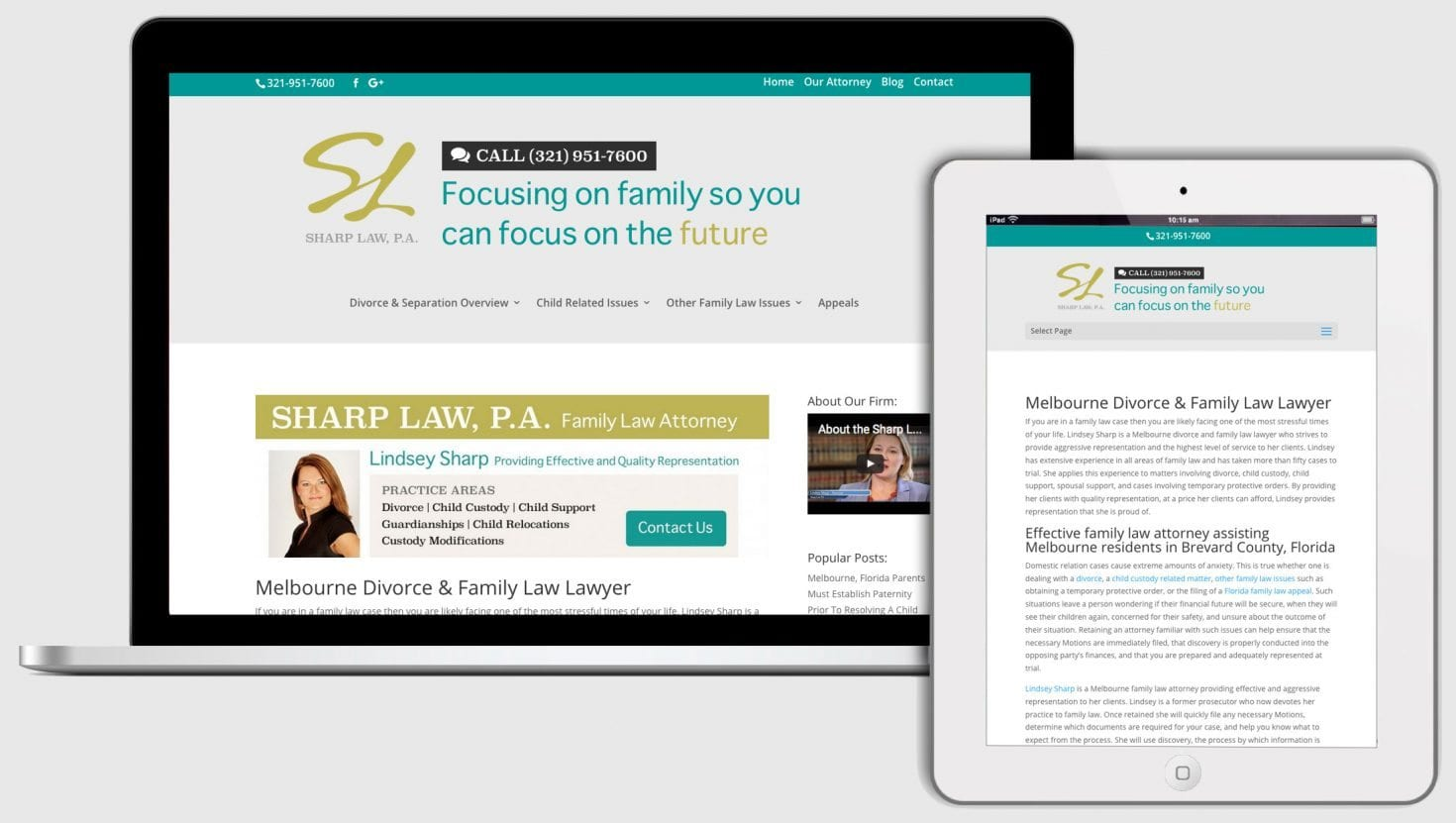 Florida family attorney website