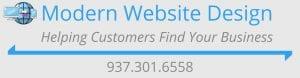 Modern Website Design Header