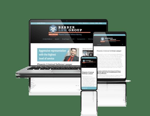 Barber Law Group Website